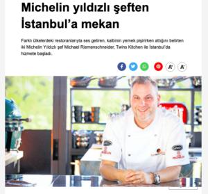 Michelin Yildizli Seften Istanbula Mekan